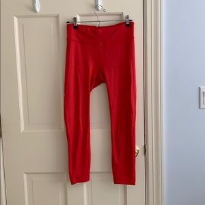Outdoor Voices Red Leggings
